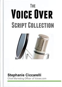 [pdf] The Voice Over Script Collection - Voices Com.